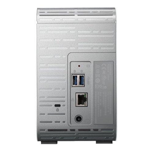Western Digital My Cloud Mirror 8Tb (WDBZVM0080JWT) - сетевой RAID накопитель