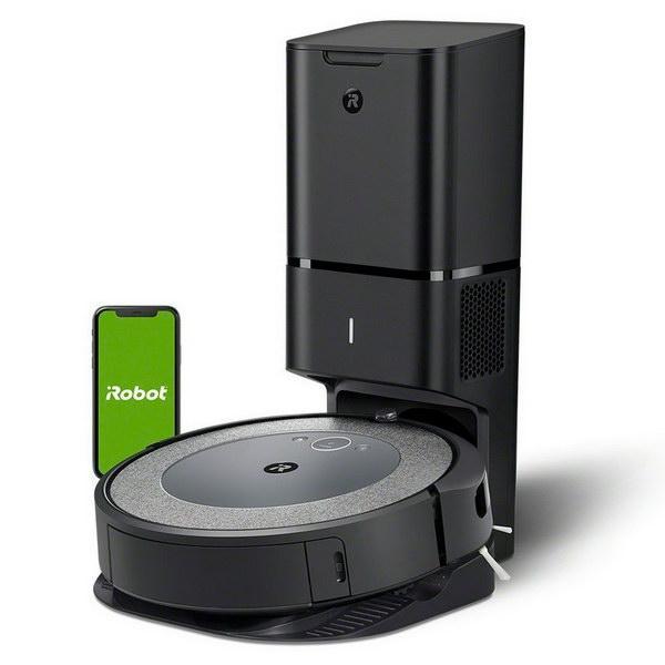 Робот-пылесос iRobot Roomba i3+ (Grey)