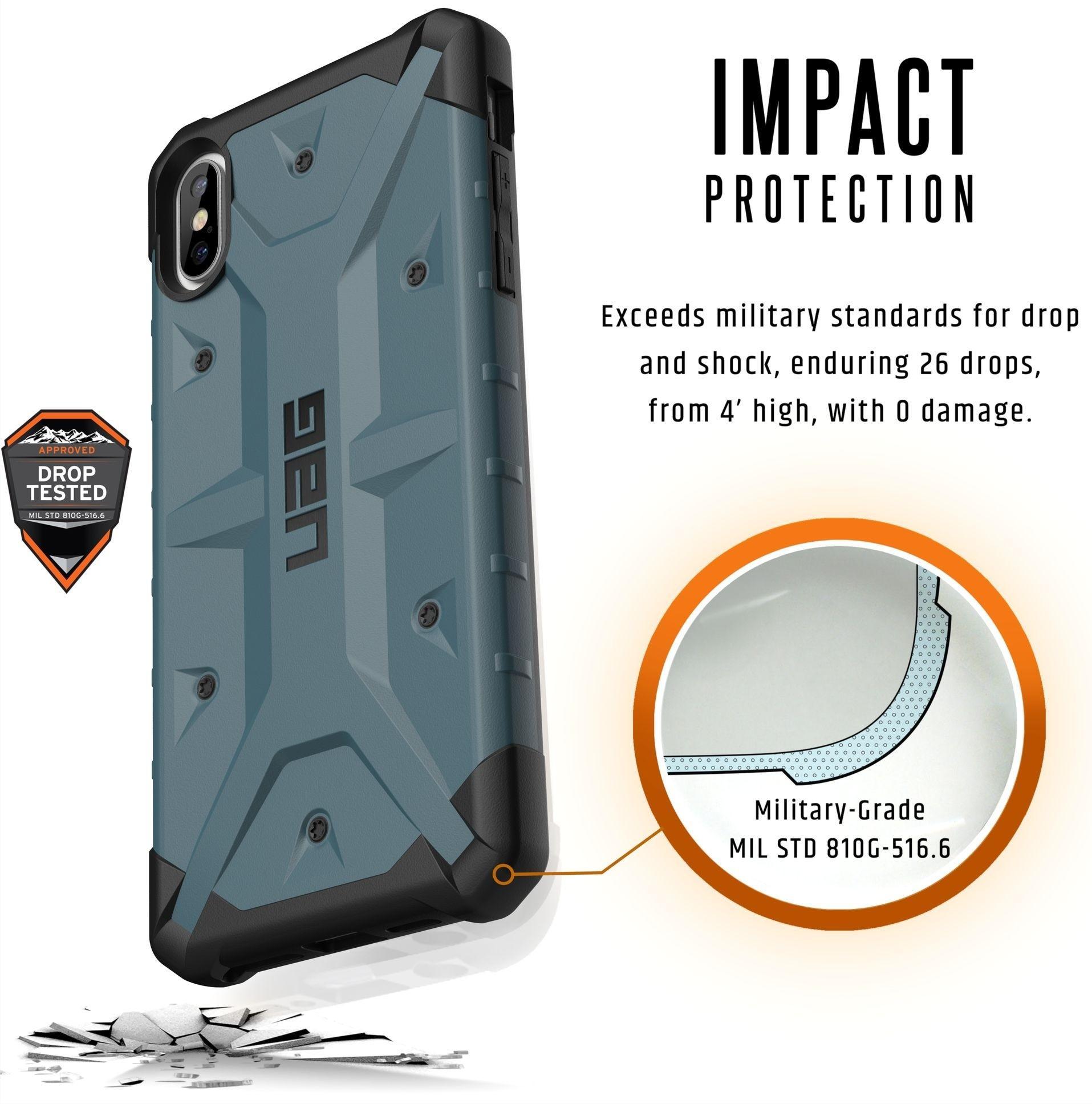Чехол Urban Armor Gear Pathfinder для iPhone Xs Max (Slate)