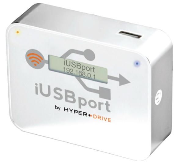 HyperMac HyperDrive iUSBport - беспроводной медиацентр (White) нд