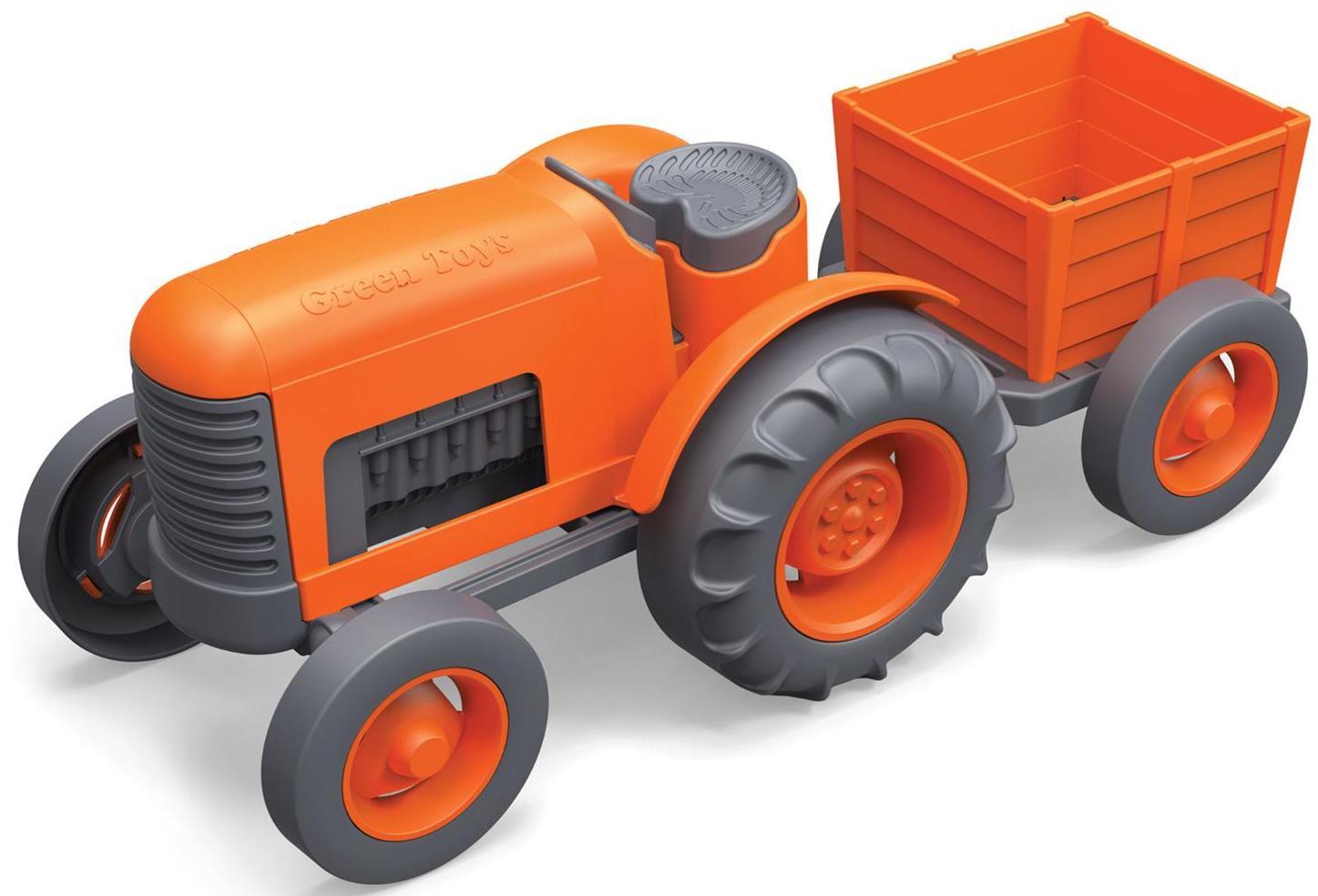 Green Toys 70330 - трактор (Orange) от iCover
