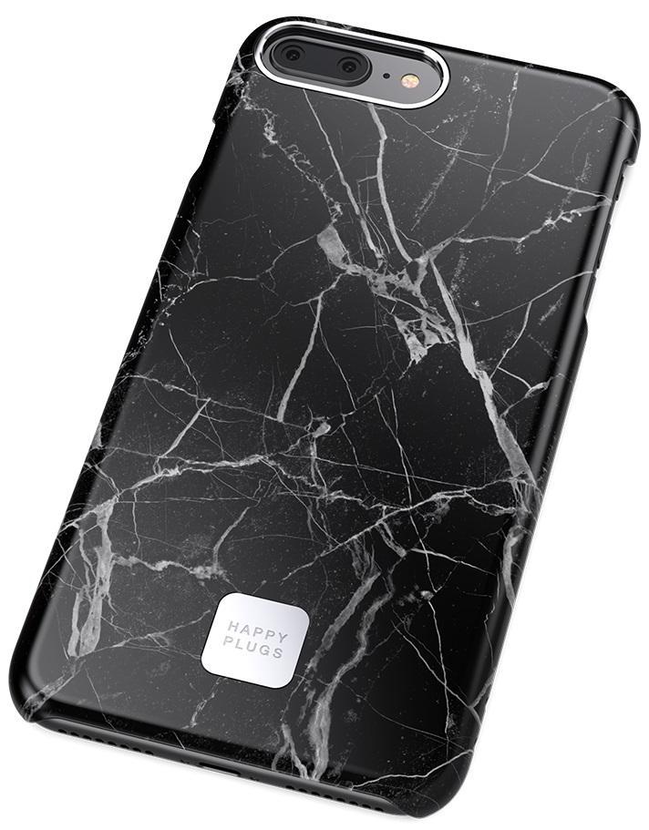 Чехол Happy Plugs Slim Case для iPhone 7/8 Plus (Black Marble)