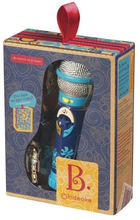 Battat B. Dot - микрофон записывающий (Blue)