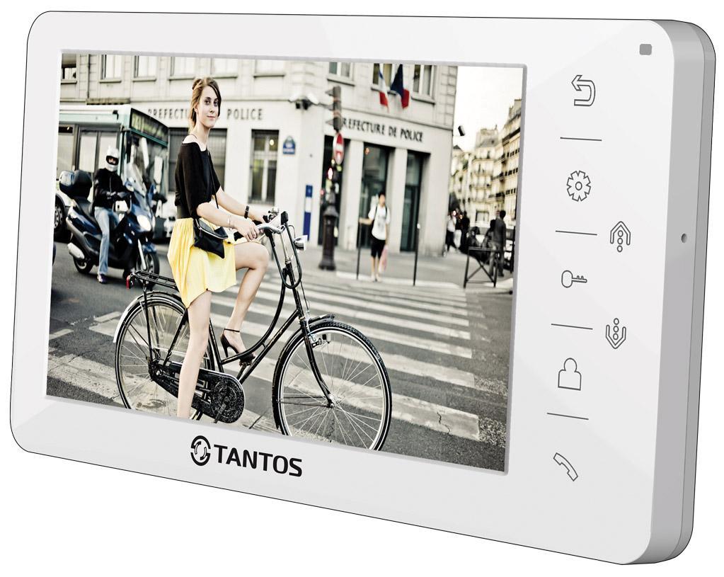 Tantos Amelie (XL или Vizit) - видеодомофон (White)