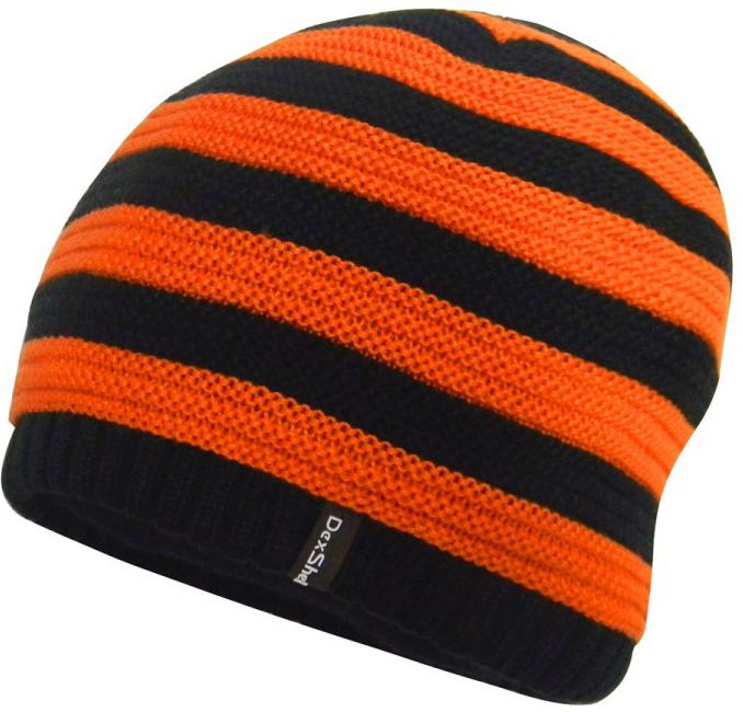 Dexshell DH552 (DH552TR) - детская водонепроницаемая шапка (Orange/Black)Туристическая одежда<br>Детская водонепроницаемая шапка<br>