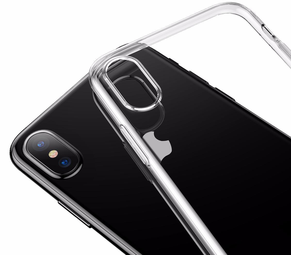 Чехол Baseus Simple Series Case (ARAPIPHX-B02) для Apple iPhone X (Transparent)