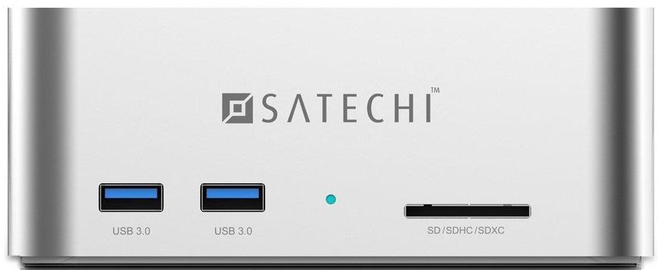 Satechi ST-U3ADS - док-станция (Silver)