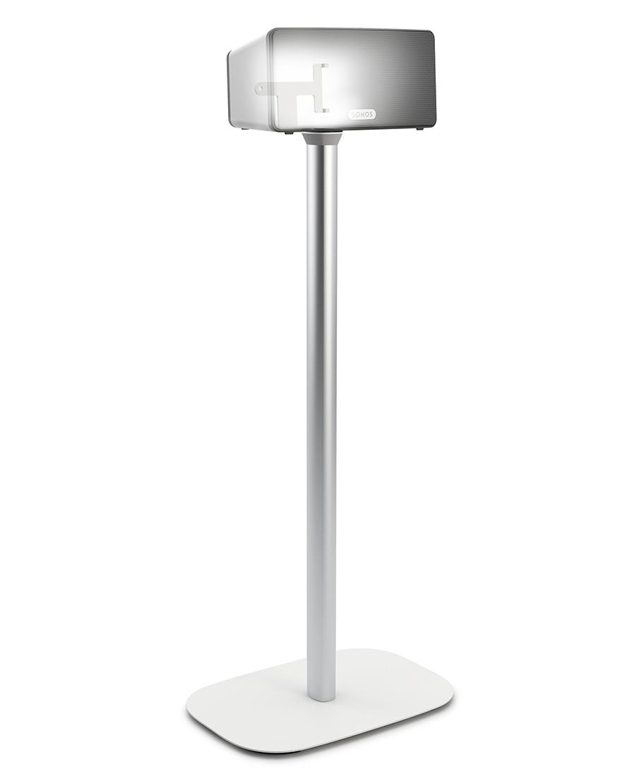 Vogels Sound 4303 - стойка для акустической системы Sonos Play:3 (White)Стойки для акустики и компонентов<br>Стойка для акустической системы<br>