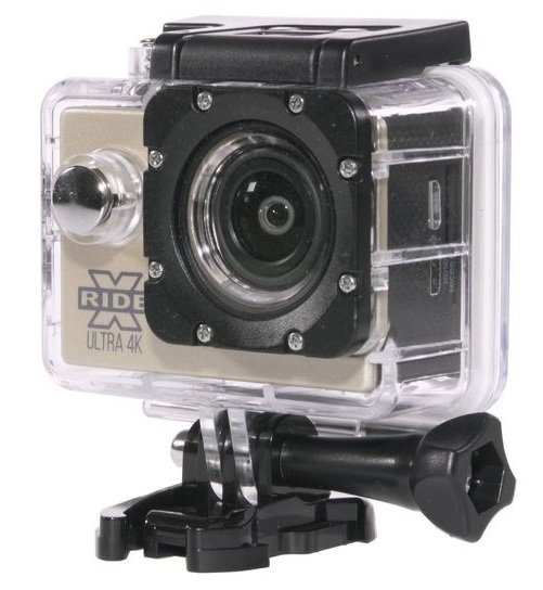 XRide Ultra 4K (AC-9001W) - экшн-камера (Gold)