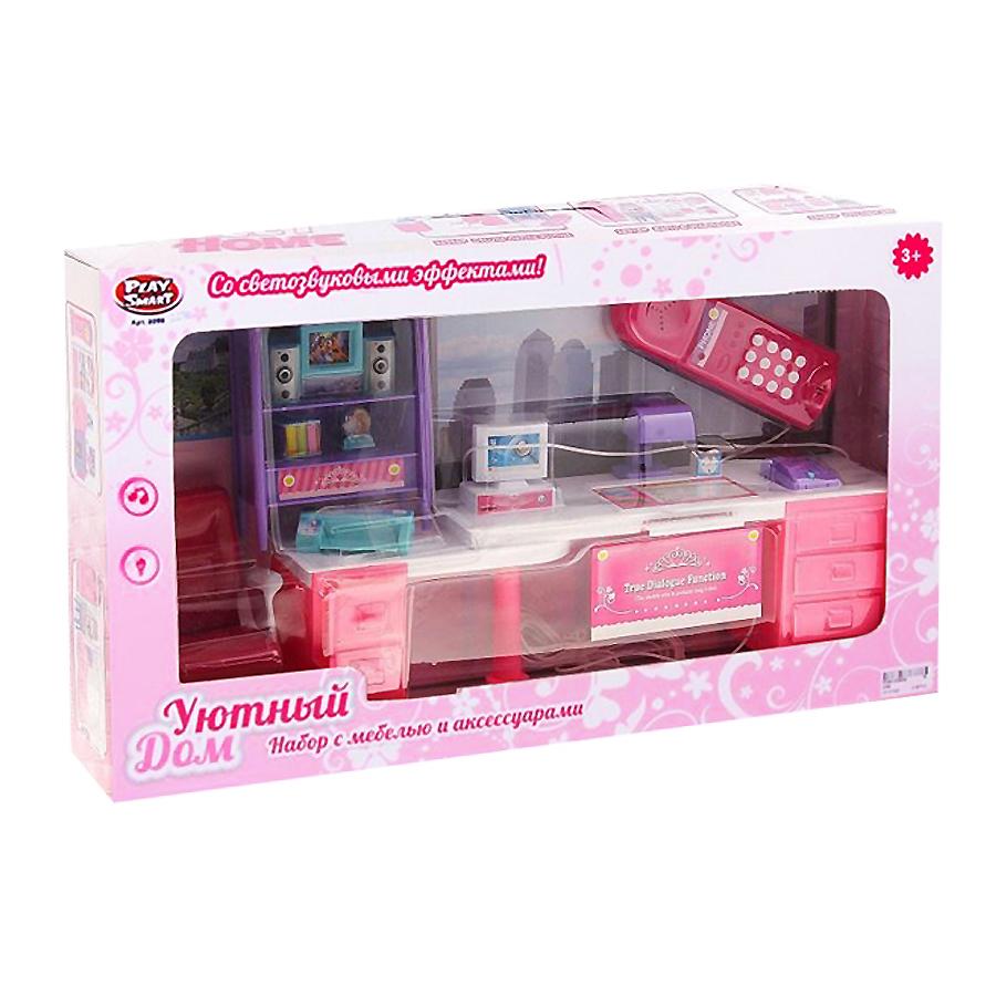 Play Smart Уютный дом (Р41067) - набор мебели с аксессуарами (Pink)