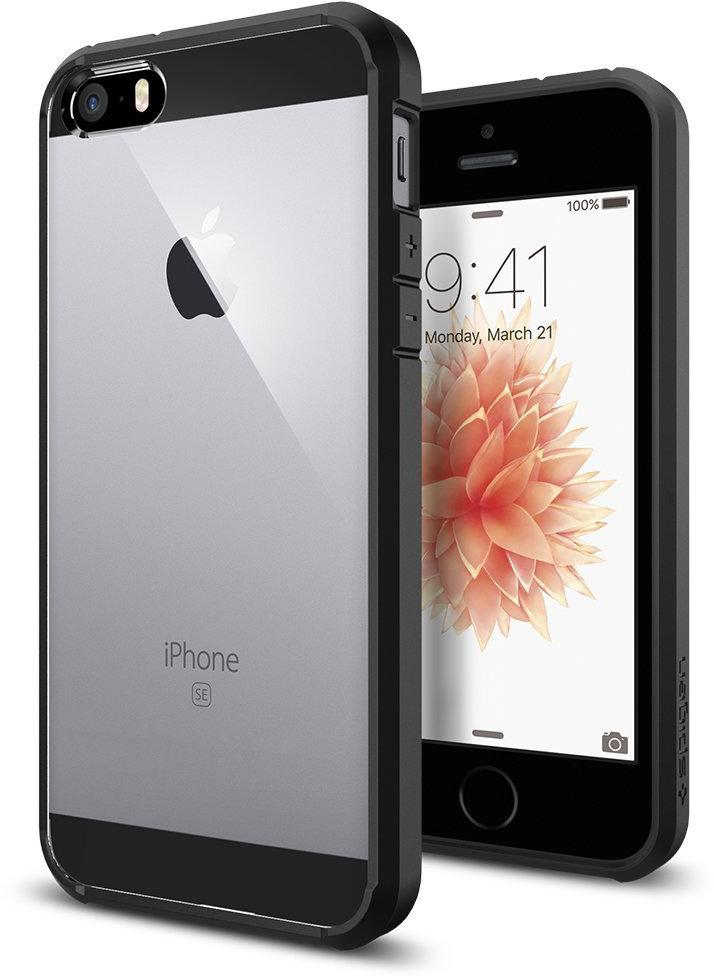 Spigen Ultra Hybrid (SGP10515) - чехол для iPhone 5/5S/SE (Black) стоимость