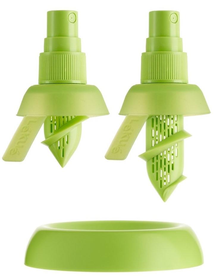 Lekue Цитрус-спрей (3400115SURU004) - пластиковая насадка (Green Light)