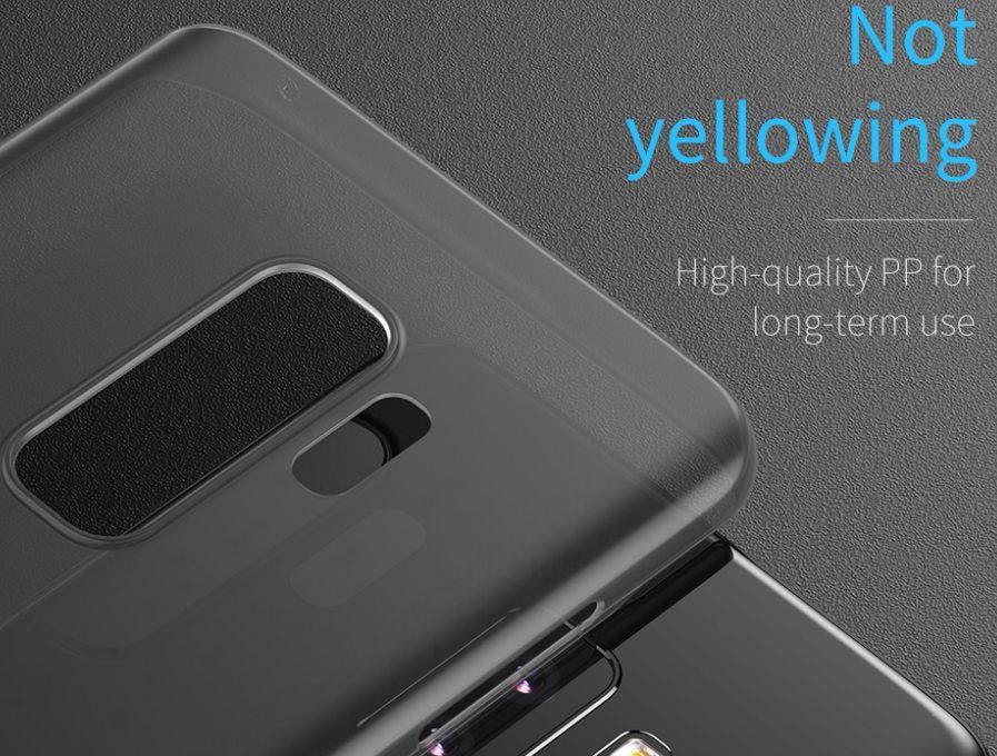 Чехол Baseus Wing Case (WISAS9-01) для Samsung Galaxy S9 (Transparent Black)