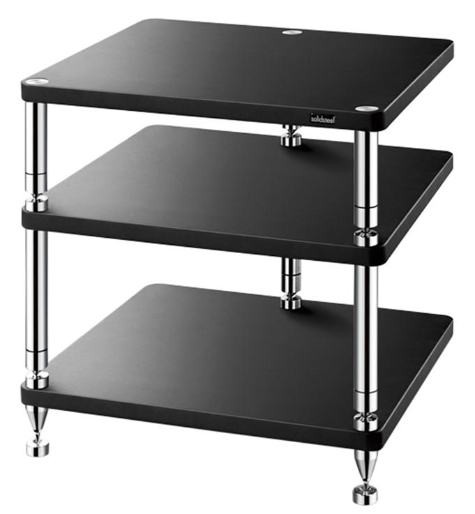 Solidsteel HJ-3 - стойка для аудио-видео оборудования (Black)