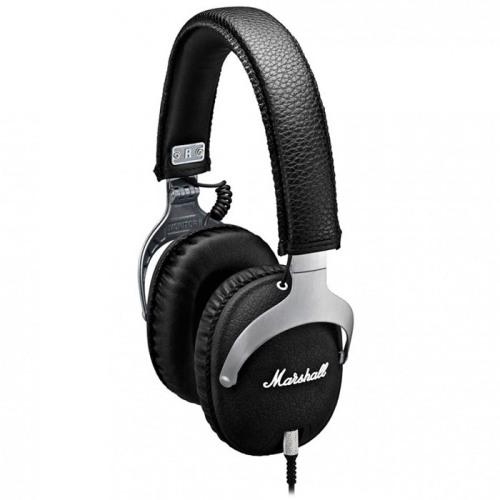 Marshall Monitor - охватывающие наушники с микрофоном (Steel Edition)