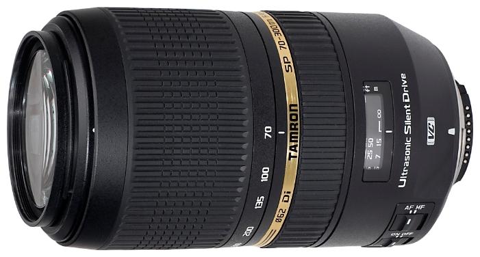 Tamron SP AF 70-300mm f/4-5.6 DI VC USD - телеобъектив для фотоаппаратов Nikon (Black)