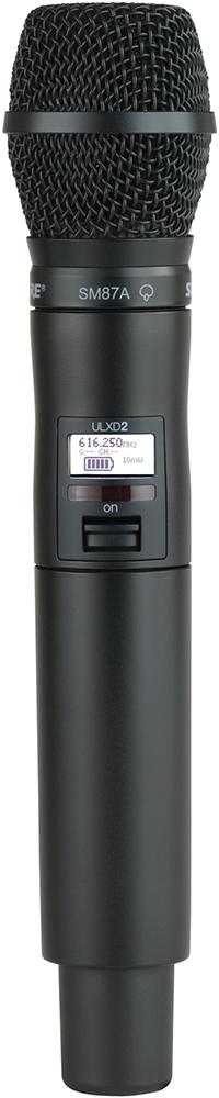 Shure ULXD2/SM87A K51 - ручной передатчик (Black) A042122