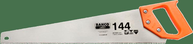 Bahco 144-20-8DR - ножовка с некалеными зубьями, 500 мм