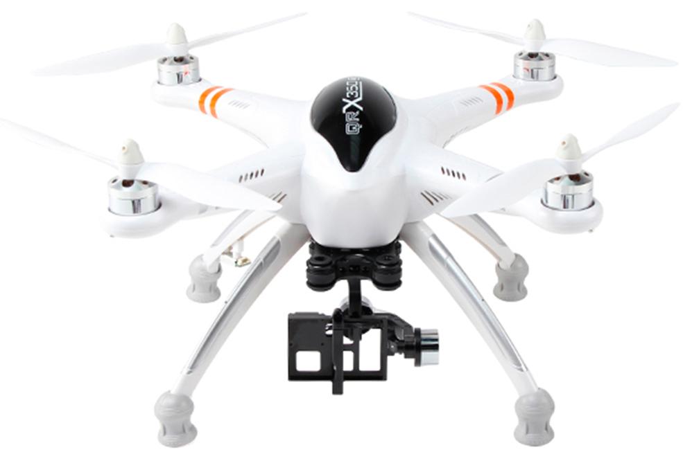 Walkera QR X350Pro FPV RTF (DEVO F7, 2D Gimble, iLOOK) - квадрокоптер (White)