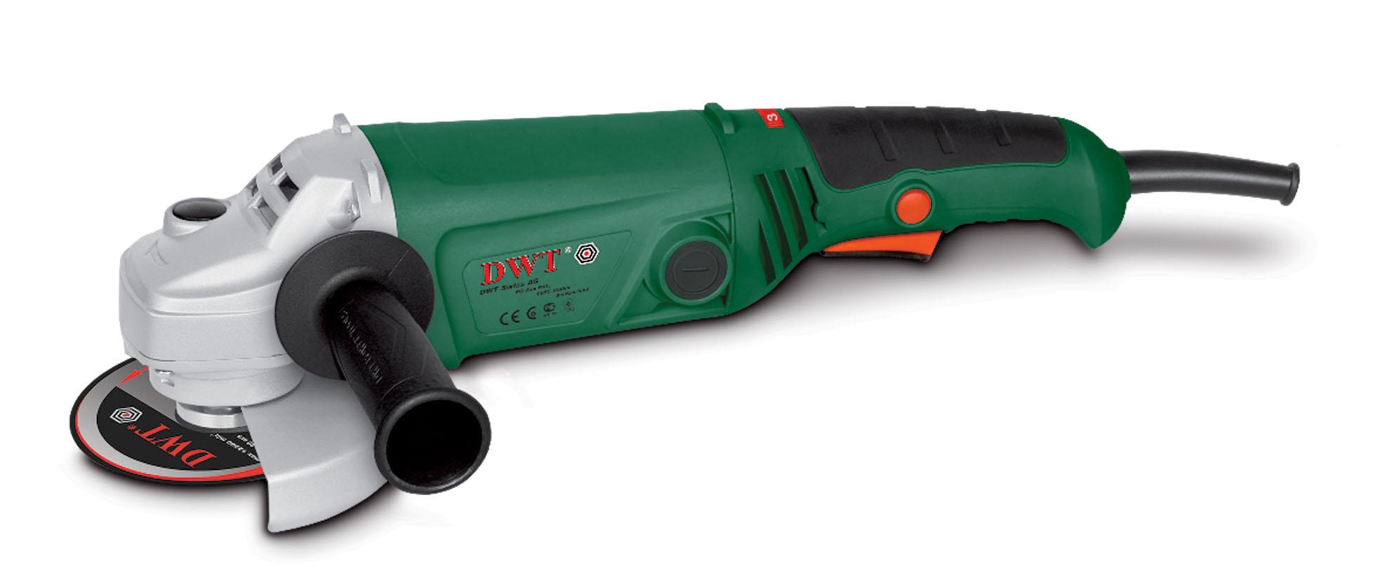 DWT WS10-125 T - угловая шлифмашина (Green)Угловые шлифовальные машинки (Болгарки)<br>Шлифмашина<br>
