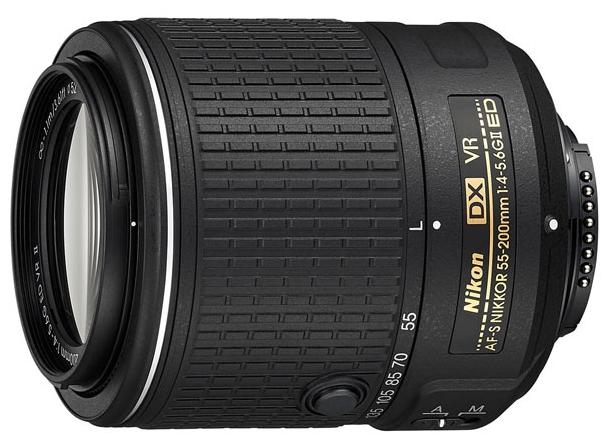 Nikon Nikkor 55-200mm f/4-5.6G AF-S DX ED VR II JAA818DA