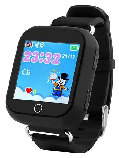 Кнопка Жизни J118 (9180130) - часы-телефон с GPS (Black)