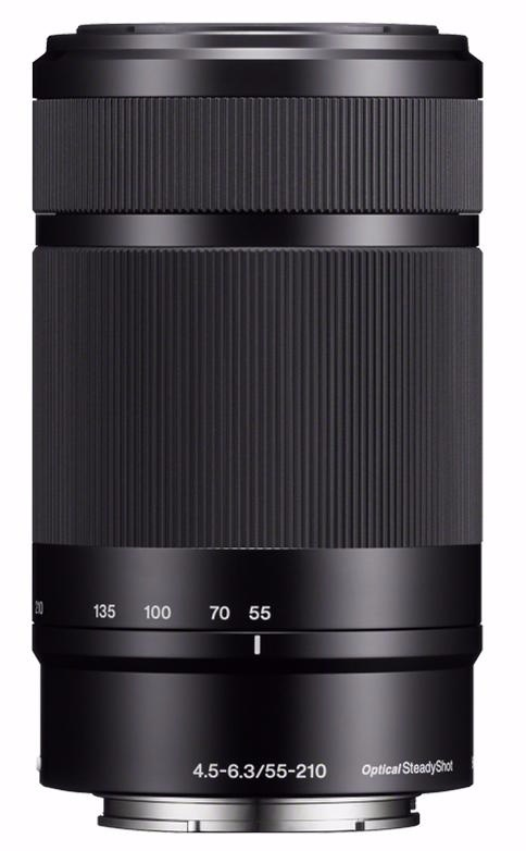 Объектив Sony SEL-55210 55-210mm f/4.5-6.3 E (Black)Объективы для фотоаппаратов<br>Объектив<br>
