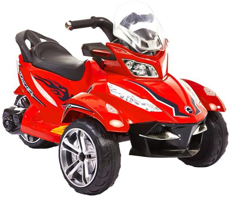 1TOY Трицикл (Т58706) - аккумуляторный трицикл (Red)