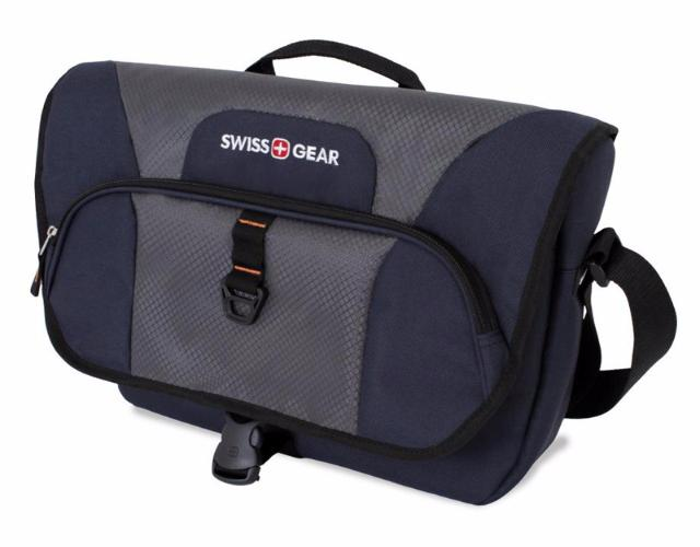 Swissgear Sport Line (6166344505) - сумка наплечная 13 л (Blue/Grey)