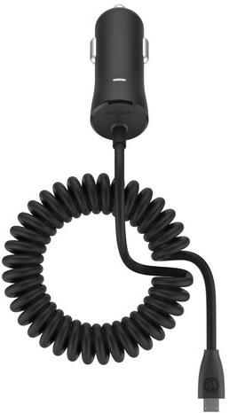 Mophie Single 2.4A (3362) - автомобильное зарядное устройство (Black)