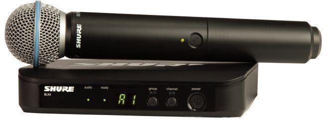 Shure BLX24E/B58 K3E - вокальная система с ручным передатчиком (Black) A045846