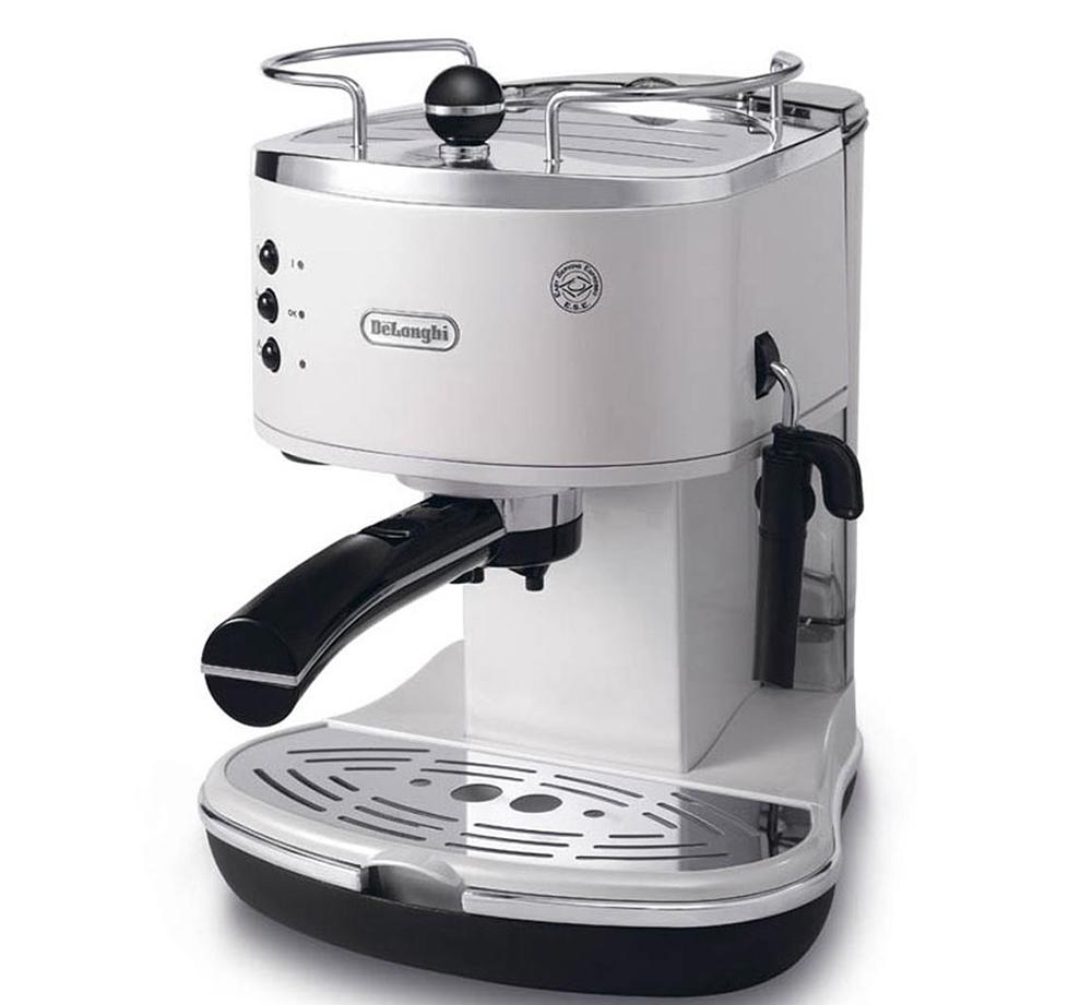 DeLonghi Icona ECO311 - рожковая кофеварка (White)