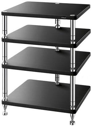 Solidsteel HJ-4 - стойка для аудио-видео оборудования (Black)
