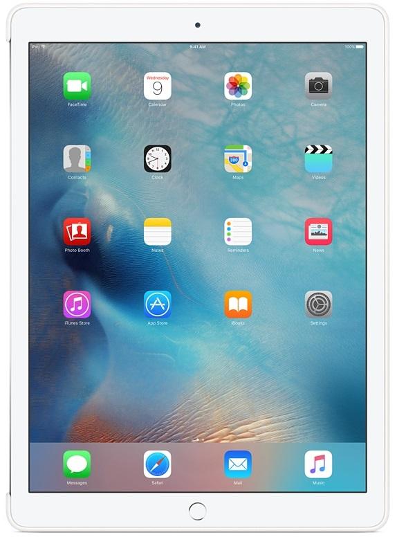 Apple iPad Pro Silicone Case (MK0E2ZM/A) - чехол для iPad Pro (White)