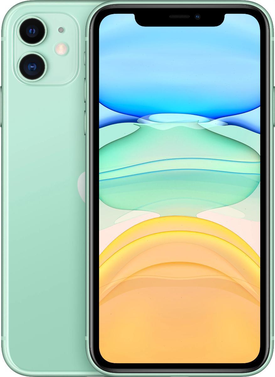 Смартфон Apple iPhone 11 64Gb MWLY2RU/A (Green) фото