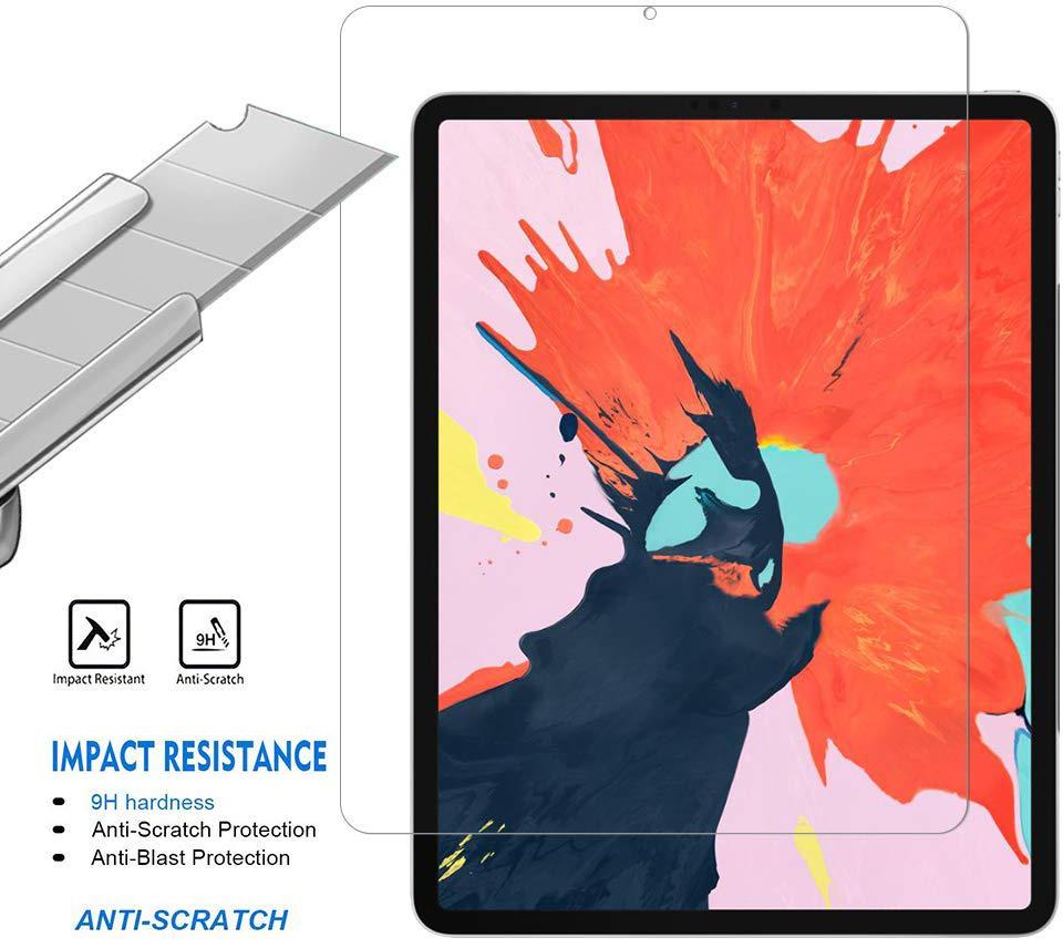 Комплект Baseus Simplism Case + Tempered Glass для iPad Pro 12.9 2018 (Black)