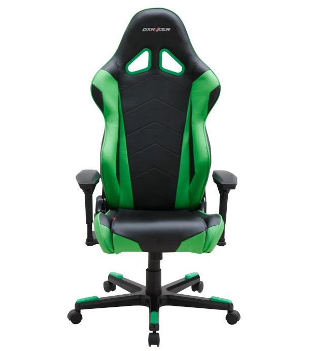 DXRacer OH/RF0/NE - компьютерное кресло (Black/Green)