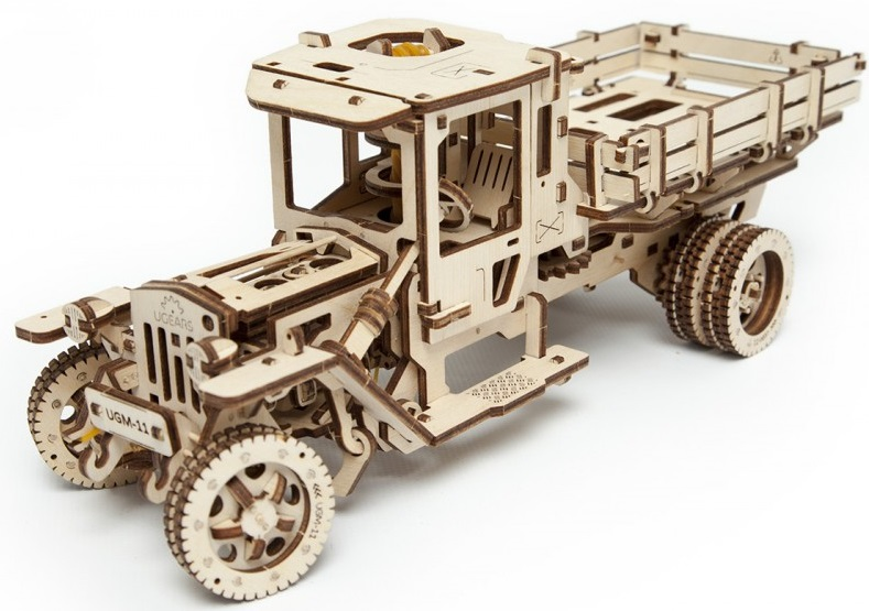 UGears Грузовик UGM-11 (70018) - 3D-пазл (Beige/Brown)