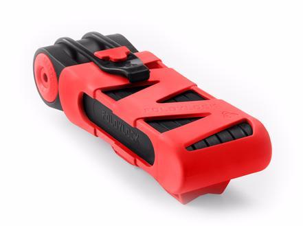 Foldylock - складной велосипедный замок (Red)Гаджеты для туризма<br>Складной замок особой прочности<br>