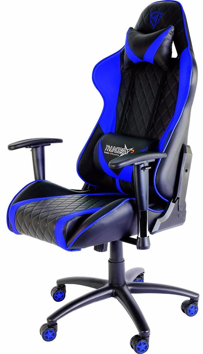 ThunderX3 TGC15 - компьютерное игровое кресло (Black/Blue)