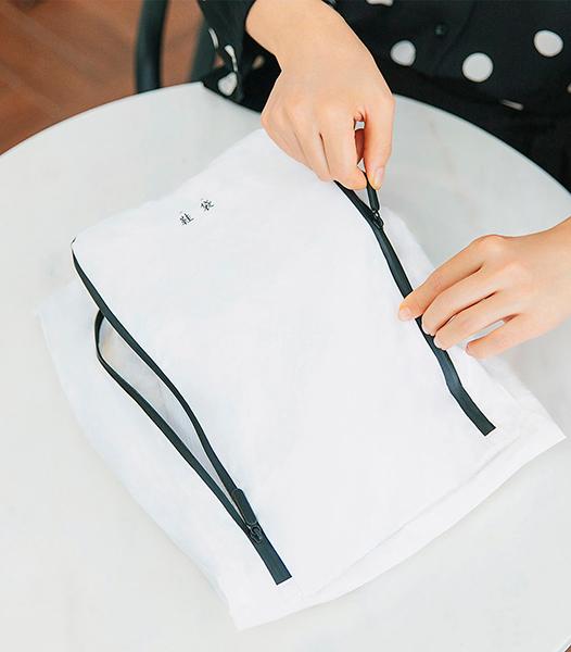 Сумка органайзер для обуви Xiaomi Ninetygo Tyvek Shoe Storage Bag (White) купить в интернет-магазине icover