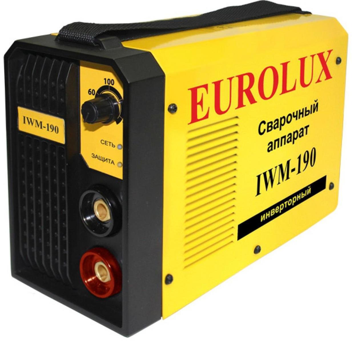 Eurolux IWM190 (65/27) - инверторный сварочный аппарат