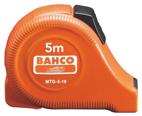 Рулетка Bahco 5 м MTG-5-19 (Orange)  рулетка bahco mts 8 25