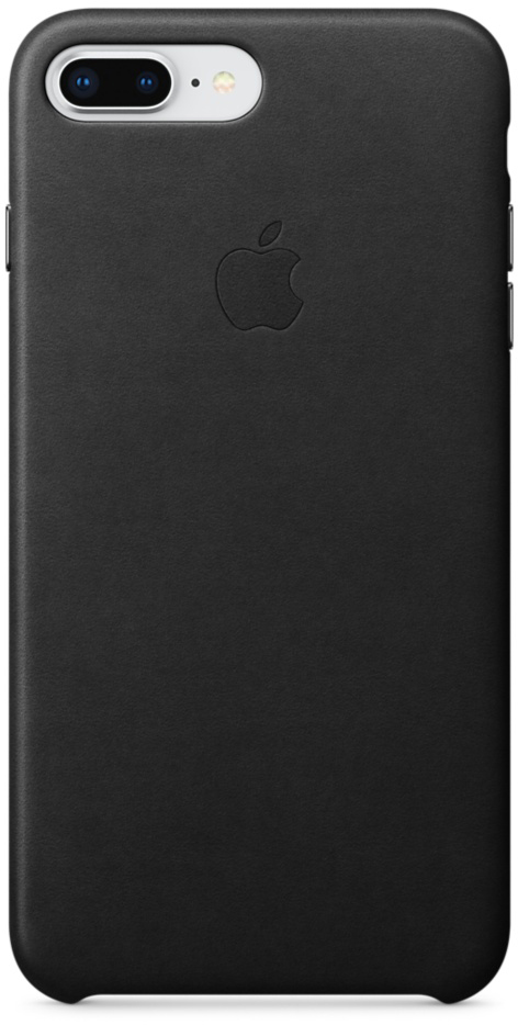Чехол-накладка Apple Leather Case MQHM2ZM/A для iPhone 7 Plus/8 Plus (Black)