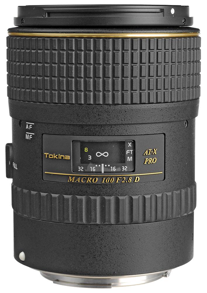 Tokina AT-X AF M100 f2.8 Pro D Macro - макрообъектив для фотоаппаратов Canon