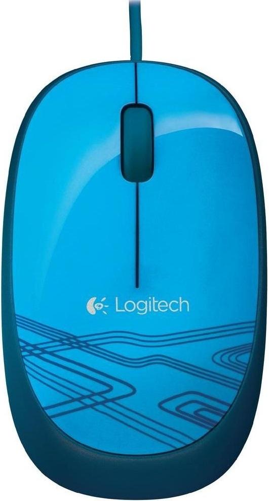Logitech M105 USB (910-003105) - проводная мышь (Blue)
