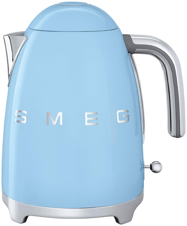 Smeg KLF02PBEU - чайник электрический (Pastel Blue)  smeg klf02pgeu чайник электрический pastel green