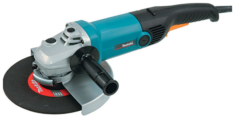 Makita GA9010C - угловая шлифовальная машинка (Blue)  makita 9562ch угловая шлифовальная машинка blue