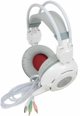 A4Tech Bloody G300 - игровая гарнитура (White)