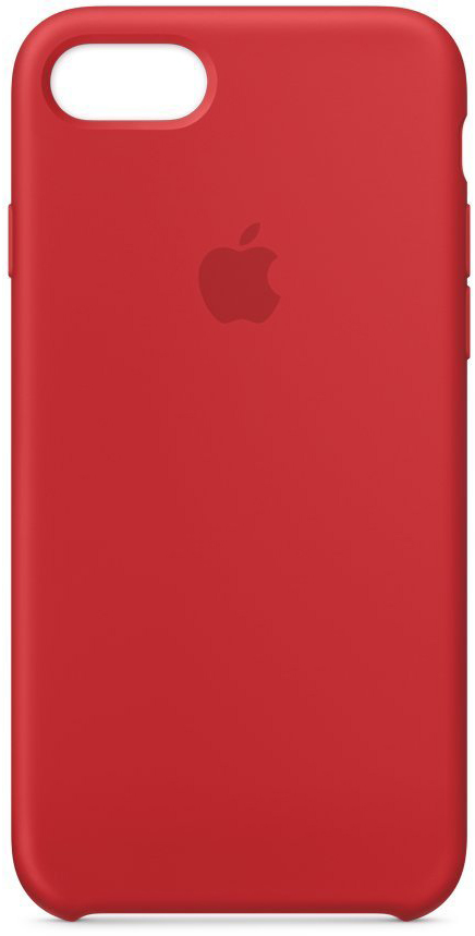 Чехол Apple Silicone Case для iPhone 7/8 MQGP2ZM/A (Red)